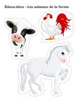 Éduca-déco-Les animaux de la ferme