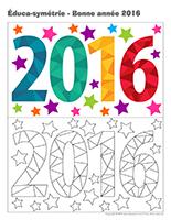 Éduca-symétrie-Bonne année 2016