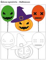 Éduca-symétrie-Halloween