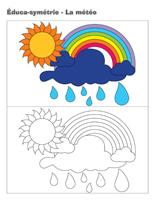 Éduca-symétrie-La météo