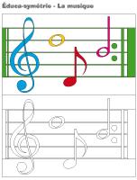 Éduca-symétrie-La musique