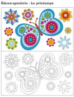 Éduca-symétrie-Le printemps
