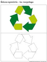 Éduca-symétrie-Le recyclage