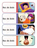 Étiquettes-Bacs de dodo-Halloween