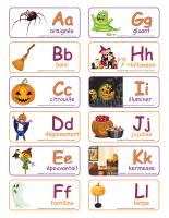 Étiquettes-mots-Abécédaire-Halloween