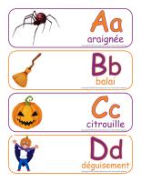 Étiquettes-mots-géants-Abécédaire Halloween