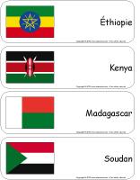 Étiquettes-mots-géants-L'Afrique