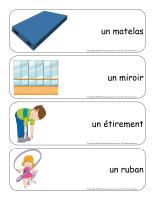 Étiquettes-mots géants-La gymnastique-1