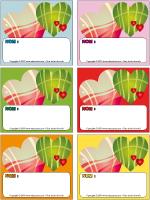 Étiquettes-noms-La St-Valentin