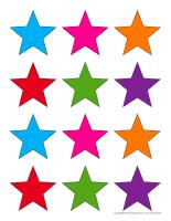 Étoiles de couleur