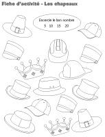 Fiche d'activité - Les chapeaux
