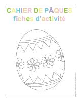 Fiches d'activité-Cahier de Pâques 2013