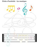 Fiches d'activité-La musique