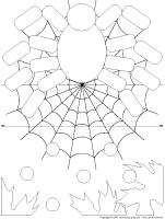 Fiches-éduca-nouilles - Les araignées