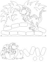 Fiches-éduca-nouilles - Les dinosaures