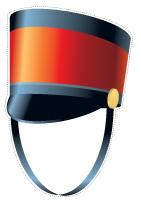 Guirlande - Les chapeaux