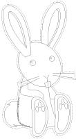Guirlande - Les lapins