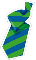 Guirlande cravates