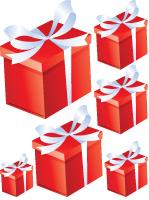 Guirlande de cadeaux