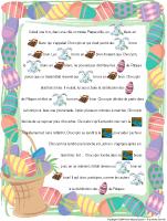 Histoire imagée - Pâques