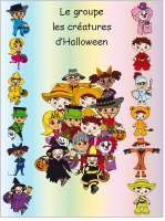 Identification groupe-Les créatures d'Halloween