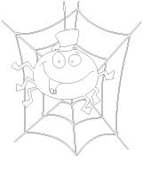 Images à colorier - Les araignées