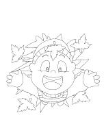 Images à colorier-L'automne-2