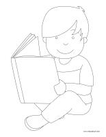 Images à colorier-Les habiletés sociales-2