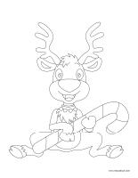Images a colorier-Noel