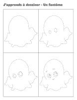 J'apprends à dessiner-Un fantôme-2