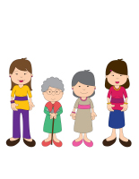 Jeu-Quatre mamans
