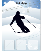 Les olympiades d hiver activit s pour enfants educatout for Interieur bobsleigh