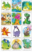 Jeu d'images - Les dinosaures