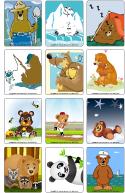 Jeu d'images - Les ours