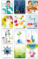 Jeu d'images - Les sciences
