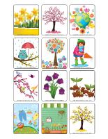 Jeu d'images-Le printemps