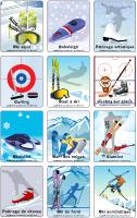 Jeu d'images-Les olympiades d'hiver