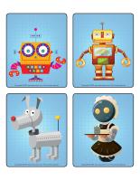 Jeu d'images-Les robots