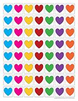 Jeu des couleurs-Saint-Valentin
