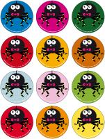 Jeu des places - Les araignées
