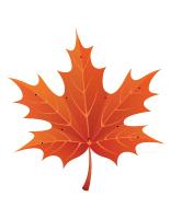 L'automne à enfiler