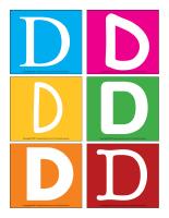 Lettres D en couleurs-1