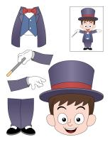 Magicien miniature