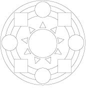 Mandalas des formes