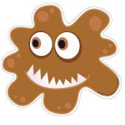 Marionnettes - Les microbes