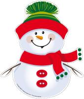 Marionnettes-Bonhomme de neige