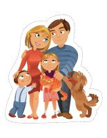 Marionnettes-La famille