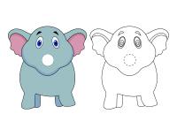 Marionnettes à doigt-Le zoo