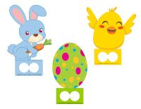 Marionnettes à doigt de Pâques