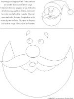 Masque Père Noël